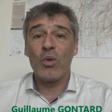 Vidéo de soutien de Guillaume Gontard sénateur de l'Isère